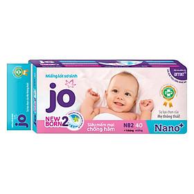 Miếng Lót Jo Newborn 2 (40 Miếng)