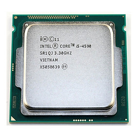 CPU INTEL I5 4590 3.3GHZ- Hàng nhập khẩu- NOFAN, NOBOX
