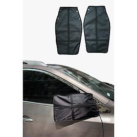 Bộ 2 túi bảo vệ gương ô tô bảo vệ gương xe hơi, túi chống trộm gương ô tô bản nâng cấp chống cắt, chống bẻ cho các dòng xe
