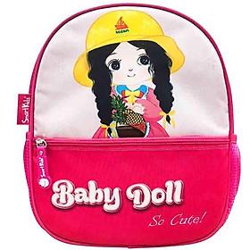 Ba Lô Mẫu Giáo Toy Station-Baby Doll B-007 - Màu Hồng