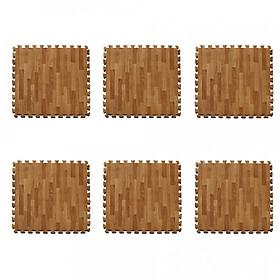 combo 10 miếng xốp ghép sàn giả gỗ 60x60cm