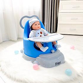 Ghế ăn cao cấp Pier 5 chức năng, đồng hành cùng bé từ 4 tháng đến 5 tuổi, được chứng nhận FDA Hoa Kỳ