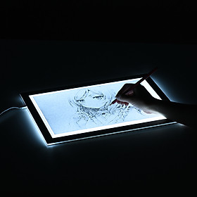 Huion L4S Protable Ultra-thin LED Light Pad Acrylic Panel LED Drawing Light Pad Powered by USB with Adjustable