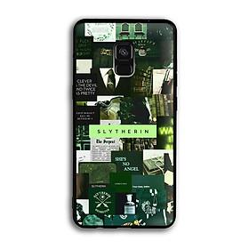 Ốp lưng Harry Potter cho điện thoại Samsung Galaxy A8 2018 - Viền TPU dẻo - 02018 7787 HP03 - Hàng Chính Hãng