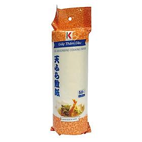 Giấy thấm dầu Kokusai 240mmx240mm (50 tờ / cuộn)