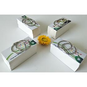 combo 500 thẻ flashcard kích thước 3,5x8 vuông học ngoại ngữ .