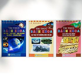 Tri Thức Bách Khoa - Combo Khám Phá Thế Giới Quanh Ta (3 cuốn)