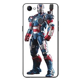 Ốp Lưng Dành Cho Oppo F7 - Iron Man Xanh