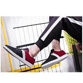 Giày thể thao nam phối màu-0