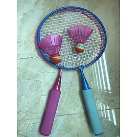 Đôi vợt cầu lông cho bé tặng kèm 2 quả cầu - BVCL