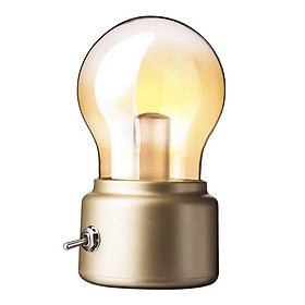 Decorative LED Night Light USB Rechargeable Nightstand Light Bulb Lamp 5V