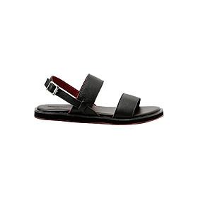 Sandal Nam Đế Bằng Da Thật Gosto Milano Sandals GDM003900BLK (Đen)
