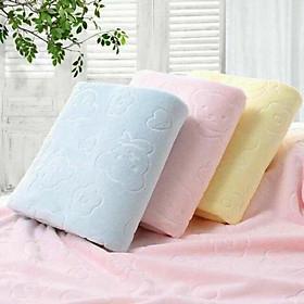 Combo 3 khăn tắm 140 x 70 cm (màu ngẫu nhiên)