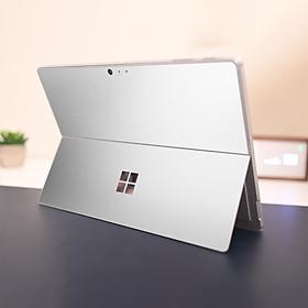 Skin dán hình Aluminum Chrome bạc bóng cho Surface Go, Pro 2, Pro 3, Pro 4, Pro 5, Pro 6, Pro 7, Pro X