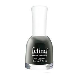 Sơn móng tay Felina 18ml CS917 - Ghi Đen