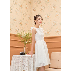 Đầm Celia sọc trắng  (Size:S,M,L )