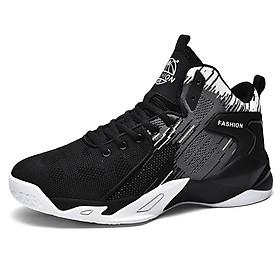 Giày bóng rổ nam, giày thể thao chơi bóng chuyền, bóng rổ chuyên dụng, chơi được sân bê tông - Siêu bền, siêu nhẹ (đủ size từ 37-44)