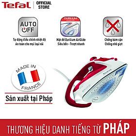 Bàn ủi hơi nước Tefal FV5717E0 - Công suất: 2500W - Khả năng phun hơi 45g/phút cho công việc ủi đồ tiện lợi - Chức năng chống cặn kéo dài tuổi thọ bàn ủi - Hàng chính hãng