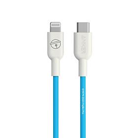 Dây cáp Anker Type-C to Lightning được chứng nhận MFi phù hợp với bộ sạc flash sạc Huawei/Xiaomi/Apple 100W5A Doraemon Official 0.9 mét
