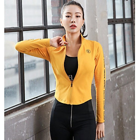 Áo Khoác Thể Thao Yoga Gym Nữ Cao Cấp, Form Chuẩn Tôn Dáng - AK01