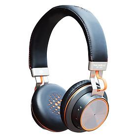 Tai Nghe Bluetooth Chụp Tai Soundmax BT-300 - Hàng Chính Hãng - Xám
