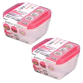 Combo Bộ 3 hộp nhựa đựng đồ ăn dặm cho bé 90ml