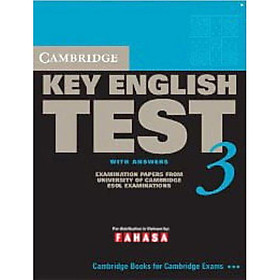 Cambridge Key English Test 3 with Answers