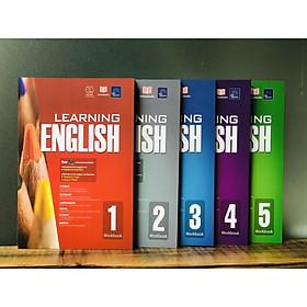 Combo Sách : Learning English 5 cuốn dành cho tiểu học