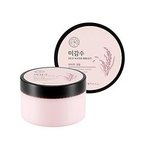 Kem Dưỡng Da THE FACE SHOP Rice Water Bright Massage Cream 200ml