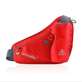 Túi đai đeo hông đeo bụng chạy bộ phản quang Anmeilu có ngăn đựng bình nước 2006