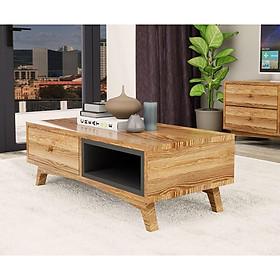 Bàn sofa đơn giản thiết kế phong cách hiện đại tiết kiệm diện tích BSF13 màu vân gỗ sáng