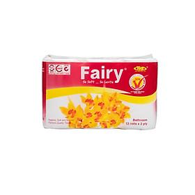Giấy Vệ Sinh Fairy 12 cuộn đỏ có lõi