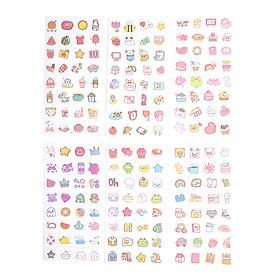 Sticker Dán Trang Trí ( Bộ 6 Tấm ) - Cute