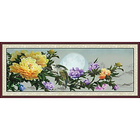 Tranh Treo Hoa Mẫu Đơn - MD014