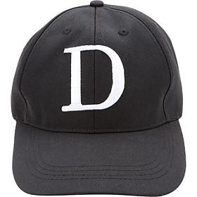 Nón Chữ Cái D (Đen)