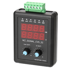 4-20mA 0-10V Signal Generator 24V Current Voltage Transmitter Signal Source Constant Current Source with Display
