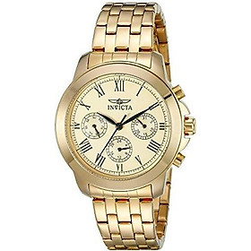Invicta Women's 21654 Specialty Analog Display Swiss Quartz Gold-Plated Watch