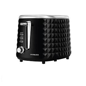 Máy Nướng Bánh Mì Lock&Lock EJB222BLK 850W Màu đen - hàng chính hãng