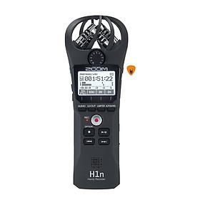 Máy Thu Ghi Âm Mic Zoom H1n - Thiết bị thu âm cầm tay kỹ thuật số Microphone Stereo - Kèm móng gẩy DreamMaker