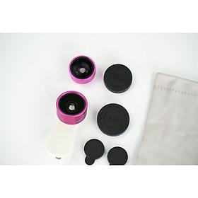 Bộ Lens điện thoại cao cấp 3in1 Funipica 0.36x góc rộng FUF516 - HÀNG CHÍNH HÃNG