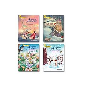 Bộ Truyện Song Ngữ Anh - Việt: Truyện Cổ Andersen (Bộ 04 cuốn)