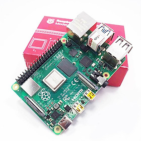 Máy tính nhúng Raspberry Pi 4 Model B Completely Upgraded Made in the UK - Hàng Chính Hãng