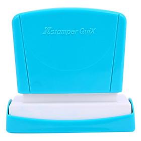 Hình đại diện sản phẩm Dấu Đóng Có Mực Xstamper Quix Artline ES-1140QBL - Received - Xanh
