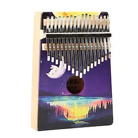 Đàn Kalimba Yael cao cấp 17 phím, Thumb Piano 17 keys - Magic Forest Tặng kèm khóa học miễn phí