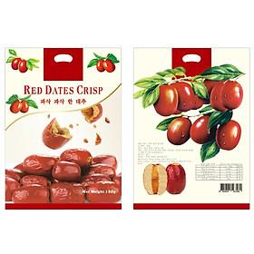 Hồng Táo Giòn Red Dates Scrisp 180g - Nhập khẩu Hàn Quốc