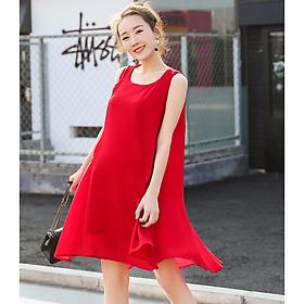 Đầm bầu đẹp - váy bầu xinh thời trang Hàn Quốc DN1907021A