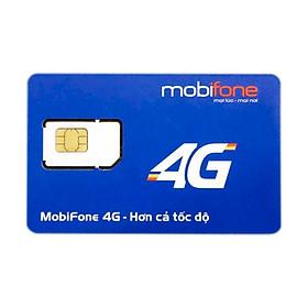 SIM 4G Mobifone FV99 TRÙM DATA 10 số (09)Tặng 30GB data, 2Mbps tiếp tục, LƯỚT WEB KHÔNG GIỚI HẠN
