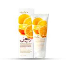 Gel tẩy da chết  làm sạch sâu và  giúp trắng da Arrahan Lemon White Peeling Gel (180ml) - Hàn Quốc Chính Hãng