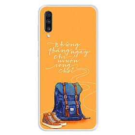 Hình đại diện sản phẩm Ốp lưng dẻo cho điện thoại Samsung Galaxy A70 - 0215 NGAYTHANGRONGCHOI - Hàng Chính Hãng
