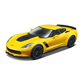 Đồ chơi xe lắp ráp MAISTO ô tô 2015 Corvette Z06 tỉ lệ 1:24 39246/MT39900